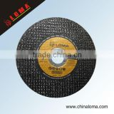 super thin reinforcing fiberglass abrasive resin bonded cutter off disc for foundry iron