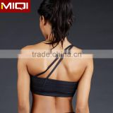 Professional yoga apparel wholesale sexy necks design ladies sports bra fitness wear for women