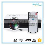 Wholesale Drop Shipping Office & School supplies 800 Lumens Mini Full HD LED 1080p Projector UC40+ Portable HDMI Home Theater