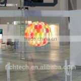 Richtech transparent rear projection film for display