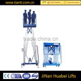 Industrial equip aluminum alloy hydraulic lift table safety portable aerial work platform