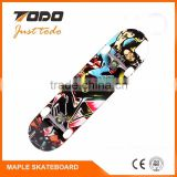 High quality Wood maple wholesale bamboo skateboard decks