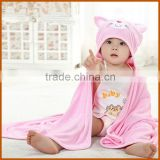 Wholesale Cute Bamboo Blanket Hooded Baby Towel                                                                         Quality Choice                                                     Most Popular