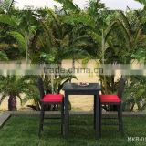 Patio Bar Set- PE Wicker patio bar set- PE rattan bar set- Outdoor Bar Chair and Table furniture