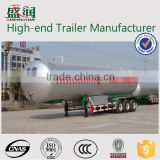 lpg tank semi trailer / lpg transport trailer / large capacity good quality lpg tanker trailer for sale