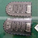soft metal bottle sticker, antique bottle labels