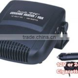 12V DC ceramic heater car fan