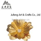 24k gold foil flower brooch promotion gift hot selling in valentine's day