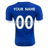 Free shipping to England Leicester 2016 home football club shirt away customs 00 CITY soccer jersey