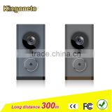 2016 water-proof smart home Intelligent wifi video doorbell with battery and AC power supply high resolution intercom camera