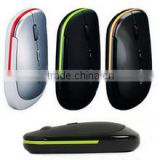 slim usb wireless mouse Optical 2.4G 3 color trackballs mouse and mice for laptops,computer mouse