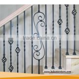 Interior Prefab Wrought Iron Stair Railing Designs