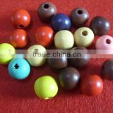 Wooden bead for jewelry
