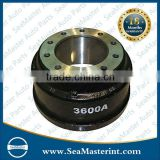 heavy duty truck brake drums for FUWA 3600A