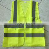Reflective yellow vest safety clothes custom reflective belts