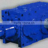 China Guomao supplier high speed shaft GMC helical gear speed motor for blowers and fans