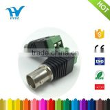 Green color bnc female cctv video balun