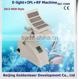 Intense Pulsed Flash Lamp 2013 Importer E-light+IPL+RF Machine Beauty Equipment Hair Hair Removal Removal 2013 Beauty Machine For Muscle Tone