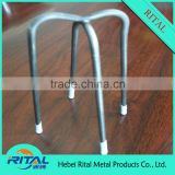 Reinforcement Spacer Four Point Wire Bar Chairs with Plastic coated leg tips