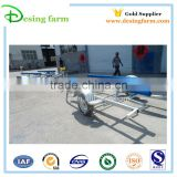 New design steel boat transport trailer for Australia and New Zealand