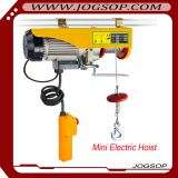 Mini electric hoist car 220V wireless remote control hoist small household crane hoist winch 100-200kg reins 12m