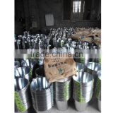 Cheap price of beach galvanized zinc metal buckets and pails for home and garden use