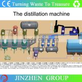 High capacity crude oil refinery machine/plant,crude oil recycling machine,crude oil to petrol&diesel