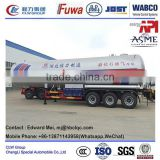 lpg propane liquid gas pressure storage tank trailer 3 bpw axles lpg propane trailer for sales