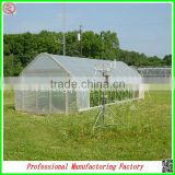 Economic and eco-friendly single-span solar greenhouse for plant growing with arched type