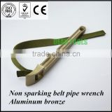 ANTI SPARK, aluminum bronze safety tools ,belt wrench strap pipe spanner