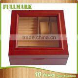 Classic wooden watch box wooden sketch box easel