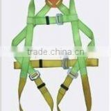 polyester whole-waist safety belt /full body safety belt/red,blue,yellow