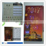 wholesale led electronic wall calendar to USA