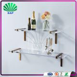 Beauty Acrylic Bathroom Cosmetic Shelf Clear Lucite Wall Shelf Plexiglass Cosmetic Holder