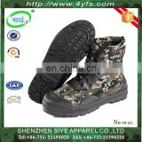 high quality leather desert Camouflage leather jungle army boots