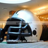 inflatable Giant Football Helmet Sports Tunnel