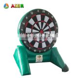 Excellent quality PVC tarpaulin inflatable sport games / customized factory price inflatable dart game