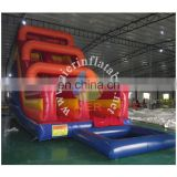 2017 Aier high Everest giant inflatable slide made of 0.55mm pvc tarpaulin from China factory