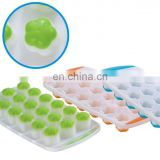 cheap flower shaped plastic ice cube tray