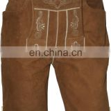 Trachtenpant for Men Short Length Dress Pants with Suspenders (Oktoberfest Clothing)