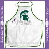 APR29 non woven apron material waist apron in color white apron