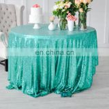 christmas elegant sequin fabric wedding tablecloths