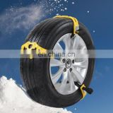 Wholesale Car Accessories Tyre Chains Car Snow Tire Anti-skid Chains For Family Car 6pcs