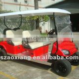 Wholesale Cheap electric golf cart with golf cart engines sale (AX-B4+2)