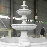 Classical Outdoor Large Carving Marble Water Fountain