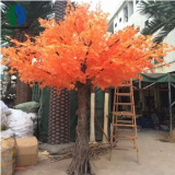 china supplier artificial maple tree with red foliage