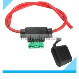 Car Auto 10/15/20/30/40A Fuses Amp plug waterproof In Line Blade Fuse Holder                                                                         Quality Choice