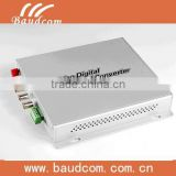 4 Channel Digital Video/Audio/Data fiber optical video multiplexer