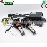 Hotsale superbright h8 h11 h16 led headlight canbus philip 4500lm h4 40w led car headlight