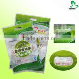 3-5kg organic rice plastic packaging bag with hanging handle                                                                         Quality Choice